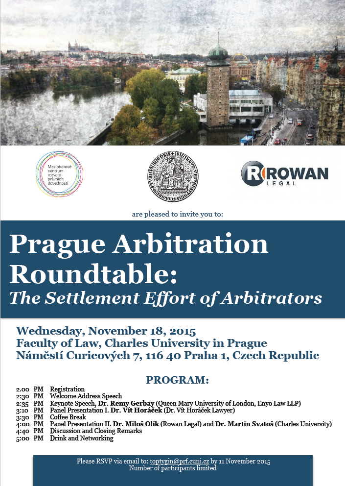 Prague Arbitration Roundtable